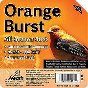 Heath Orange Burst Suet Cake