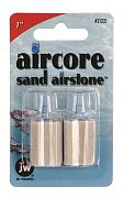 JW Pat Aircore Sand Airstone 1 inch 2 pack