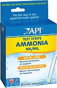 Mars Fishcare Ammonia Aqua Test Strips 25count