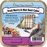 Pine Tree Fruit Berry Suet Cake