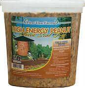 Pine Tree Hi-Energy & Peanut Classic Suet Log Peanut 5.25 Lb