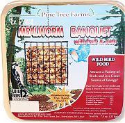 Pine Tree Lepetit Mealworm Banquet Cake 7.5 Oz