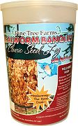 Pine Tree Mealworm Banquet Classic Log 28 Oz