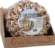 Pine Tree Nutsie Le Petite Seed Wreath Counter Pack Brown 1.50 Pound/6pak