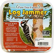Pine Tree Woodpecker Log Jammer