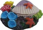 Poppy Aerating Reef Clam White 5x3x3