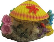 Poppy Aerating Reef Clam Yellow 4x3x3