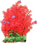 Poppy Extra Wide Bushy Ambulia Aquarium Plant Red 16 Inch