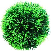 Poppy Moss Ball Dark Green 4.75 Inch