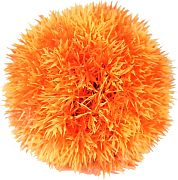 Poppy Moss Ball Orange 4.75 Inch