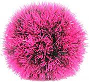 Poppy Moss Ball Purple 4.75 Inch