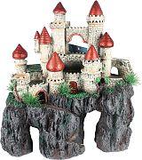 Poppy Sunken Castle Copper/Green 15x8x7