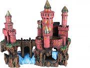 Poppy Sunken Castle Red 13x6x8