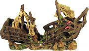 Poppy Sunken Shipwreck 19x6x11