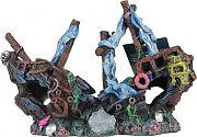 Poppy Sunken Shipwreck 9x3x6