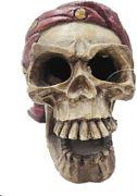 Poppy Underwater Pirate Skull 4x5x4