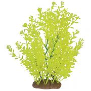 Pure Aquatic Lindernia Plant Ornament Neon Green 9 Inch