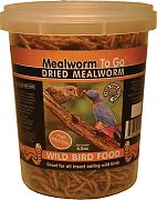 Unipet USA Dried Mealworm To Go Tub