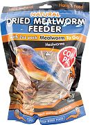 Unipet USA Natural Reed Feeder With 2oz Pack Of Mealworm To Go