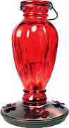 Woodstream Daisy Vase Vintage Hummingbird Feeder Red 24 Oz