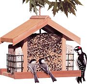 Woodstream Deluxe Chalet Feeder With Suet