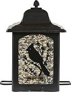 Woodstream Perky-Pet Birds & Berries Lantern Feeder Black 5 Lb Cap
