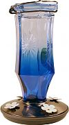 Woodstream Sapphire Starburst Vintage Hummingbird Feeder Blue