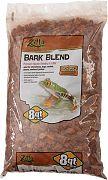 Zilla Bark Blend Reptile Bedding & Litter Brown 8 Quart