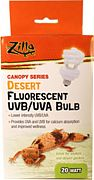 Zilla Desert Bulb Low Intensity Uvb/Uva 20 Watt