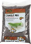 Zilla Jungle Mix Reptile Bedding & Litter Brown 24 Quart