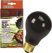 Zilla Night Black Heat Inc Bulb 150 Watt
