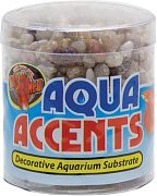 Zoo Med Aqua Accents Light River Pebble .5Lb