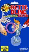 Zoo Med Betta Bling Mermaid With Hoop