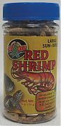 Zoo Med Large Sun-Dried Red Shrimp .5 oz
