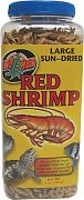 Zoo Med Large Sun-Dried Red Shrimp 5 oz