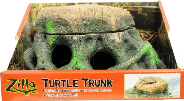 Turtle Trunk Zilla Freestanding Floating Basking Platform